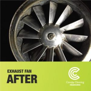 Exhaust Fan Cleaning AFTER